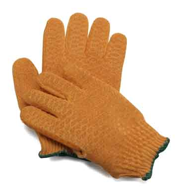 GLV 4707/md - Orange Planters Gloves - medium